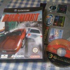 Videojuegos y Consolas: BURNOUT PARA NINTENDO GAMECUBE GC Y WII JUEGO JUEGO PAL. Lote 30052979