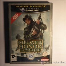 Videojuegos y Consolas: GAMECUBE - GAME CUBE MEDAL OF HONOR FRONTLINE. Lote 32002709