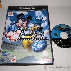 Videojuegos y Consolas: NINTENDO GAMECUBE DISNEY SPORT FOOTBALL SIN MANUAL. Lote 31702135