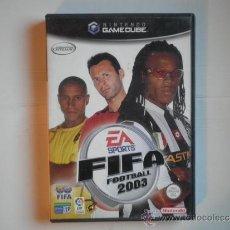 Videojuegos y Consolas: GAMECUBE - GAME CUBE FIFA 2003. Lote 32002673