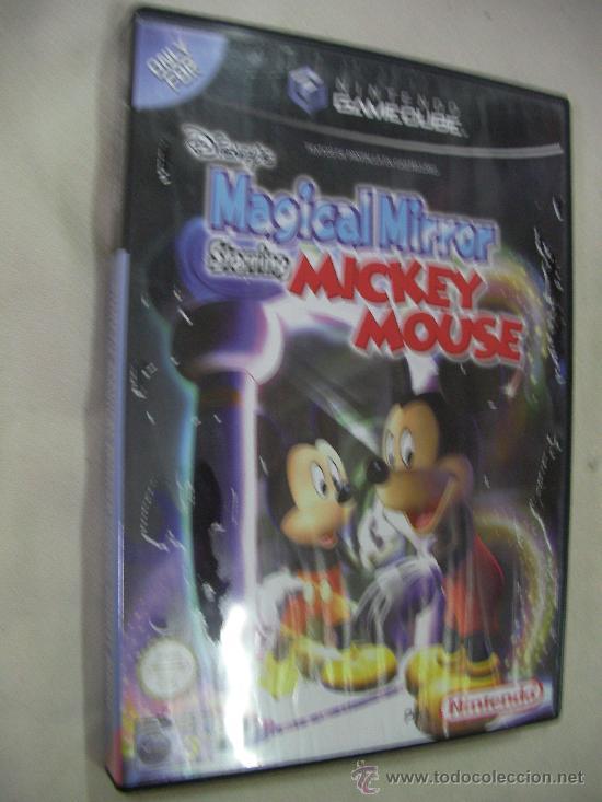 ANTIGUO JUEGO PARA NINTENDO GAMECUBE MAGICAL MIRROR DE MICKEY MOUSE NUEVO SIN USAR PRECINTADO (Juguetes - Videojuegos y Consolas - Nintendo - Gamecube)