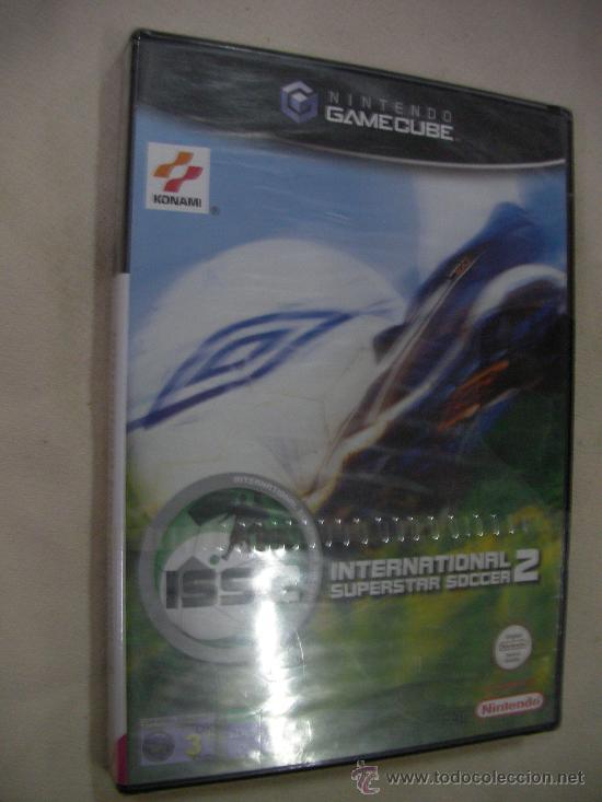 ANTIGUO JUEGO PARA NINTENDO GAMECUBE INTERNATIONAL SUPERSTAR SOCCER 2 NUEVO SIN USAR PRECINTADO (Juguetes - Videojuegos y Consolas - Nintendo - Gamecube)