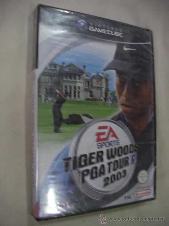 ANTIGUO JUEGO PARA NINTENDO GAMECUBE TIGER WOODS PGA TOUR NUEVO SIN USAR PRECINTADO (Juguetes - Videojuegos y Consolas - Nintendo - Gamecube)