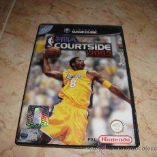 Videojuegos y Consolas: JUEGO DE NINTENDO GAMECUBE NBA COURTSIDE GAME CUBE PFS. Lote 34357610