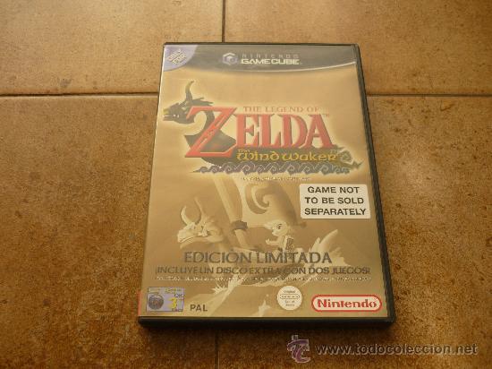 JUEGO GAME CUBE ZELDA EDICION LIMITADA WIND WAKER WA PAL NINTDO MANUAL TODO JUEGAZO 2002 (Juguetes - Videojuegos y Consolas - Nintendo - Gamecube)