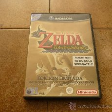 Videojuegos y Consolas: JUEGO GAME CUBE ZELDA EDICION LIMITADA WIND WAKER WA PAL NINTDO MANUAL TODO JUEGAZO 2002. Lote 35430124