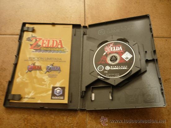 Videojuegos y Consolas: JUEGO GAME CUBE ZELDA EDICION LIMITADA WIND WAKER WA PAL NINTDO MANUAL TODO JUEGAZO 2002 - Foto 2 - 35430124