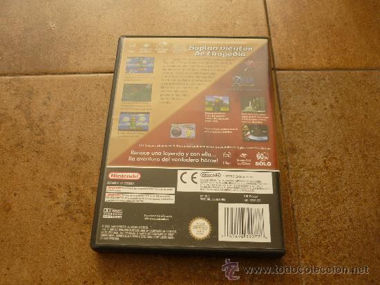 Videojuegos y Consolas: JUEGO GAME CUBE ZELDA EDICION LIMITADA WIND WAKER WA PAL NINTDO MANUAL TODO JUEGAZO 2002 - Foto 4 - 35430124