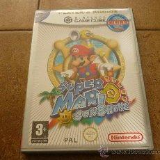 Videojuegos y Consolas: SUPER MARIO SUNSHINE PARA LA NINTENDO GAMECUBE WII GAME CUBE GC NGC PAL VERSIÓN ESPAÑOLA. Lote 35430217