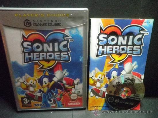GAMECUBE SONIC HEROES (Juguetes - Videojuegos y Consolas - Nintendo - Gamecube)