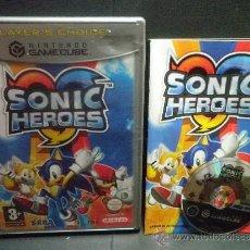Videojuegos y Consolas: GAMECUBE SONIC HEROES. Lote 32272613