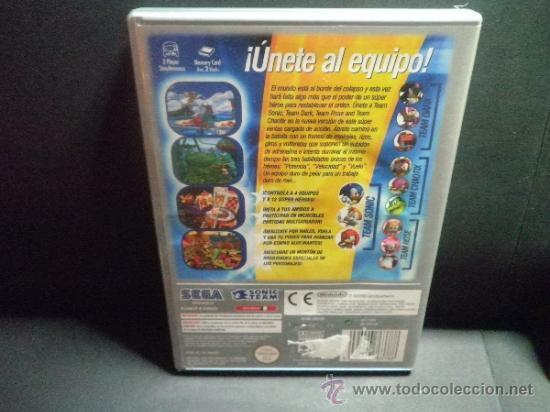 Videojuegos y Consolas: GAMECUBE SONIC HEROES - Foto 3 - 32272613