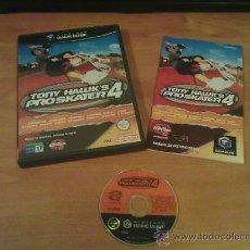 """Videojuegos y Consolas: VIDEOJUEGO """"TONY HAWK PRO SKATER 4 """"NINTENDO GAMECUBE. Lote 35994064"""