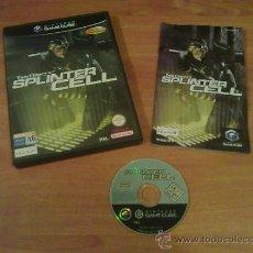 Videojuegos y Consolas: VIDEOJUEGO SPLINTER CELL PARA NINTENDO GAMECUBE. Lote 35994110