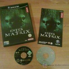 Videojuegos y Consolas: VIDEOJUEGO ENTER THE MATRIX PARA GAMECUBE. PAL CASTELLANO. Lote 35994329