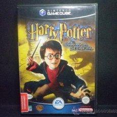 Videojuegos y Consolas: GAMECUBE HARRY POTTER Y LA CAMARA SECRETA. Lote 36322958