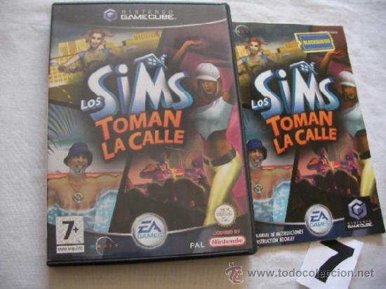 ANTIGUO JUEGO GAMECUBE - LOS SIMS TOMAN LA CALLE - COMO NUEVO IMPECABLE (Juguetes - Videojuegos y Consolas - Nintendo - Gamecube)