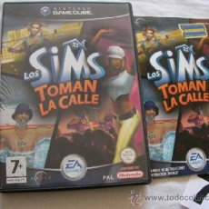 Videojuegos y Consolas: ANTIGUO JUEGO GAMECUBE - LOS SIMS TOMAN LA CALLE - COMO NUEVO IMPECABLE. Lote 37792688