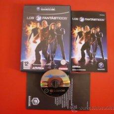 Videojuegos y Consolas: JUEGO DE NINTENDO GAMECUBE LOS 4 FANTASTICOS GAME CUBE PFS. Lote 94137859