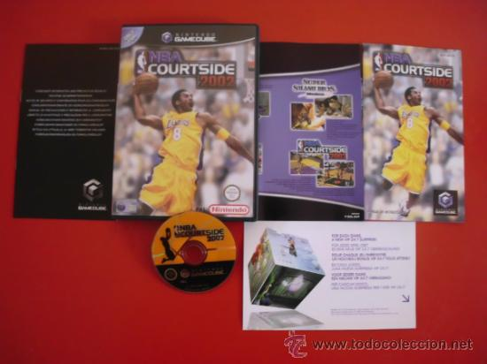 JUEGO DE NINTENDO GAMECUBE NBA COURTSIDE 2002 GAME CUBE PFS (Juguetes - Videojuegos y Consolas - Nintendo - Gamecube)