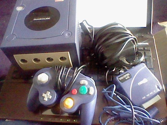 CONSOLA GAMECUBE GAME CUBE FUNCIONANDO LEER DETENIDAMENTE (Juguetes - Videojuegos y Consolas - Nintendo - Gamecube)