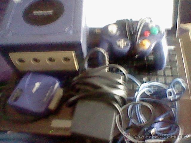 Videojuegos y Consolas: CONSOLA GAMECUBE GAME CUBE FUNCIONANDO LEER DETENIDAMENTE - Foto 12 - 100179827