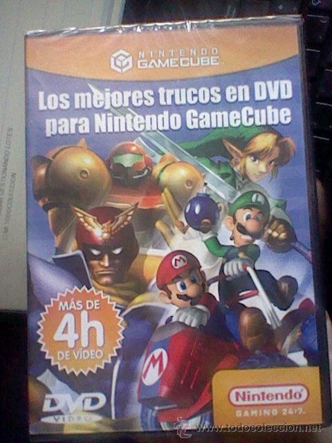 GAMECUBE PAL DVD TRUCOS PARA NINTENDO GAMECUBE 4 HORAS PRECINTADO (Juguetes - Videojuegos y Consolas - Nintendo - Gamecube)