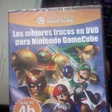 Videojuegos y Consolas: GAMECUBE PAL DVD TRUCOS PARA NINTENDO GAMECUBE 4 HORAS PRECINTADO. Lote 42033573