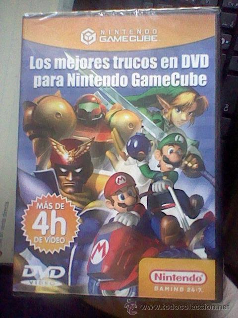 Videojuegos y Consolas: gamecube pal DVD TRUCOS PARA NINTENDO GAMECUBE 4 HORAS PRECINTADO - Foto 4 - 42033573
