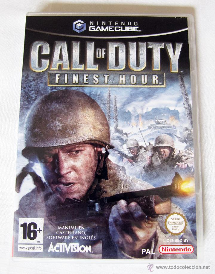 CALL OF DUTY FINEST HOUR PARA NINTENDO GAMECUBE - MANUAL EN CASTELLANO SOFTWARE EN INGLES (Juguetes - Videojuegos y Consolas - Nintendo - Gamecube)