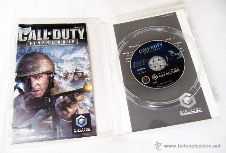 Videojuegos y Consolas: CALL OF DUTY FINEST HOUR PARA NINTENDO GAMECUBE - MANUAL EN CASTELLANO SOFTWARE EN INGLES - Foto 2 - 43577110