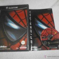 Videojuegos y Consolas: SPIDER-MAN PARA NINTENDO GAME CUBE COMPLETO CON CAJA Y MANUAL. Lote 236033690