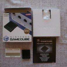 Videojuegos y Consolas: NINTENDO GAMECUBE MEMORY CARD 251 CON CAJA. Lote 45181369