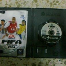 Videojuegos y Consolas: FIFA FOOTBALL 2004 - NINTENDO GAME CUBE - GAMECUBE - PAL - CASTELLANO. Lote 45714008