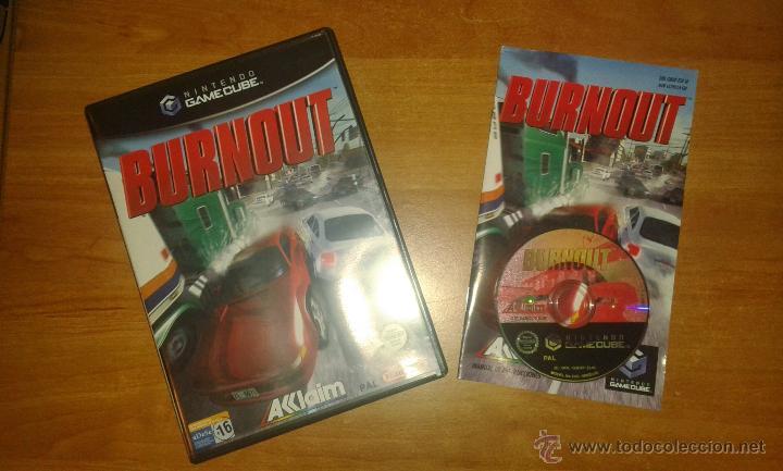 VIDEOJUEGO BURNOUT NINTENDO GAMECUBE PAL (Juguetes - Videojuegos y Consolas - Nintendo - Gamecube)