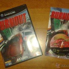 Videojuegos y Consolas: VIDEOJUEGO BURNOUT NINTENDO GAMECUBE PAL. Lote 46086137