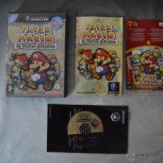 Videojuegos y Consolas: JUEGO NINTENDO PAPER MARIO LA PUERTA MILENARIA GAMECUBE PAL ESPAÑA COMPLETO GAME CUBE CASTELLANO PFS. Lote 70377513