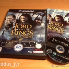 Videojuegos y Consolas: THE LORD OF THE RINGS TWO TOWERS JUEGO PARA NINTENDO GAMECUBE GAME CUBE PAL. Lote 47947023