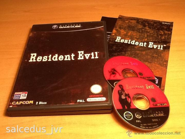 resident evil gamecube game