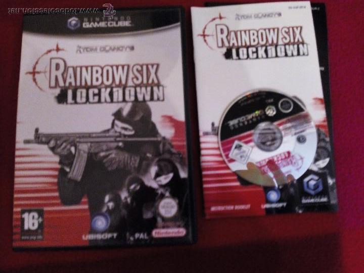 RAINBOW SIX LOCKDOWN GAMECUBE PAL UK TEXTOS DE PANTALLA EN CASTELLANO (Juguetes - Videojuegos y Consolas - Nintendo - Gamecube)