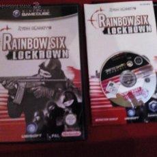 Videojuegos y Consolas: RAINBOW SIX LOCKDOWN GAMECUBE PAL UK TEXTOS DE PANTALLA EN CASTELLANO. Lote 49349024