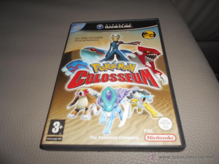 POKEMON COLOSSEUM JUEGO PARA NINTENDO GAMECUBE Y WII PAL EN VERSIÓN ESPAÑOLA (Juguetes - Videojuegos y Consolas - Nintendo - Gamecube)