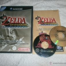 Videojuegos y Consolas: THE LEGEND OF ZELDA: THE WIND WAKER EDICION COLECCIONISTA NINTENDO GAME CUBE PAL ESPAÑA COMPLETO. Lote 217415957