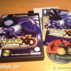 Videogiochi e Consoli: POKEMON XD TEMPESTAD OSCURA JUEGO PARA NINTENDO GAMECUBE GAME CUBE PAL ESP EN MUY BUEN ESTADO. Lote 207730687