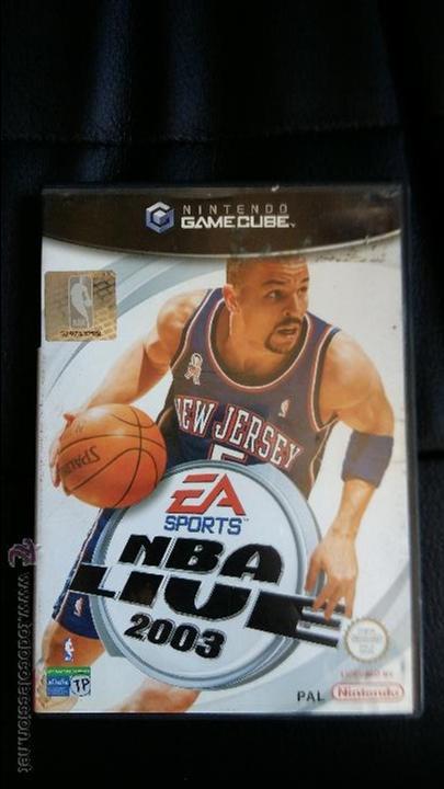 JUEGO DE NINTENDO GAMECUBE NGC NBA LIVE 2003 BASQUETBALL GAME (Juguetes - Videojuegos y Consolas - Nintendo - Gamecube)