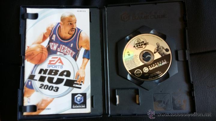 Videojuegos y Consolas: Juego de nintendo gamecube ngc nba live 2003 basquetball game - Foto 2 - 51059687