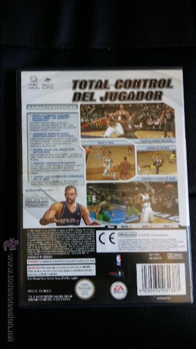 Videojuegos y Consolas: Juego de nintendo gamecube ngc nba live 2003 basquetball game - Foto 3 - 51059687