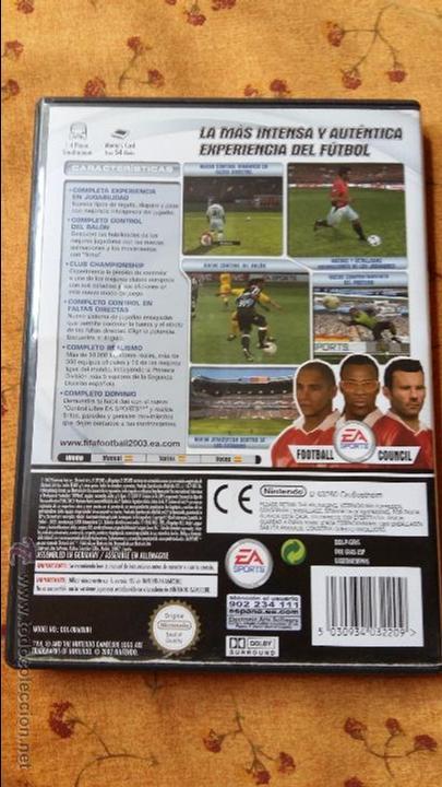 Videojuegos y Consolas: Juego de nintendo gamecube ngc fifa world cup 2003 game - Foto 3 - 51059707