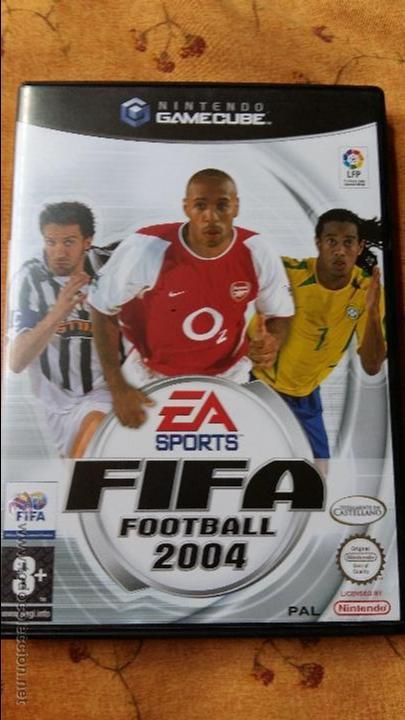 JUEGO DE NINTENDO GAMECUBE NGC FIFA WORLD CUP 2004 GAME (Juguetes - Videojuegos y Consolas - Nintendo - Gamecube)
