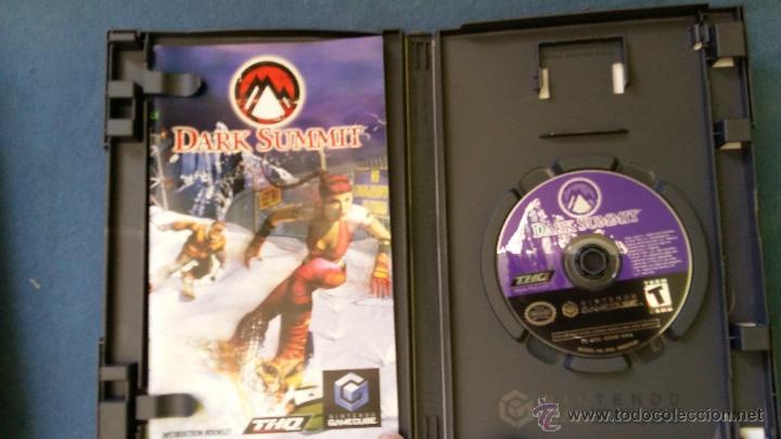 Videojuegos y Consolas: Juego de nintendo gamecube ngc Dark Summit snowboard original completo (versión americana NTSC) - Foto 2 - 51068453